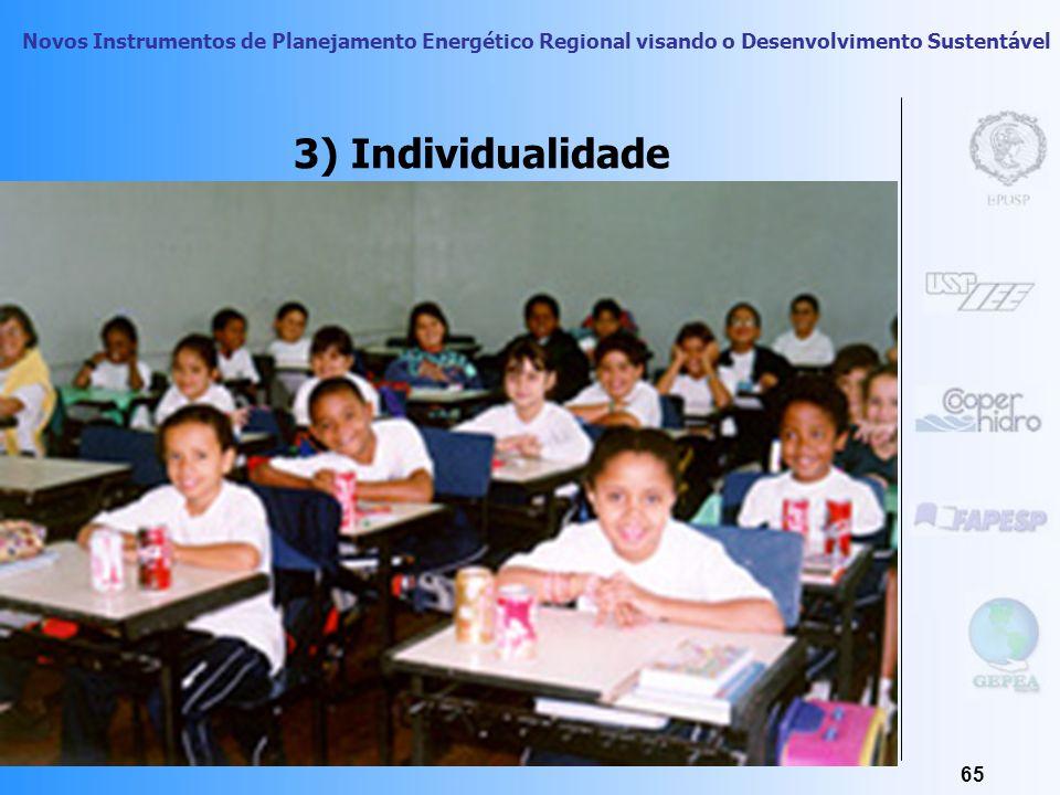 3) Individualidade