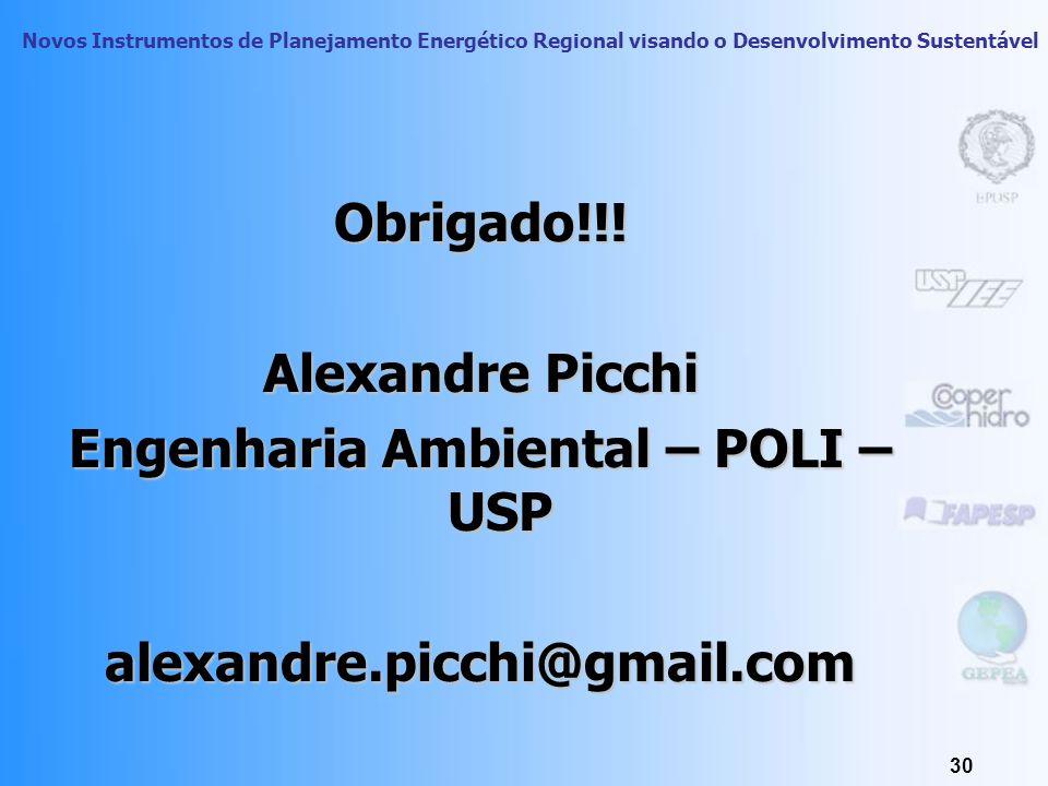 Engenharia Ambiental – POLI – USP