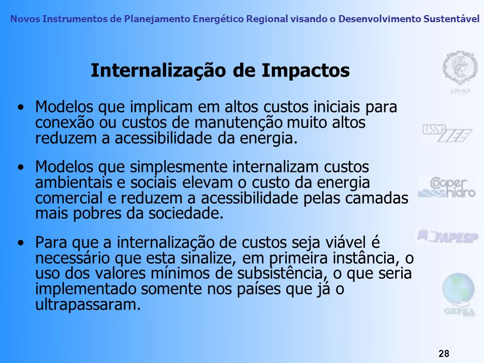 Internalização de Impactos