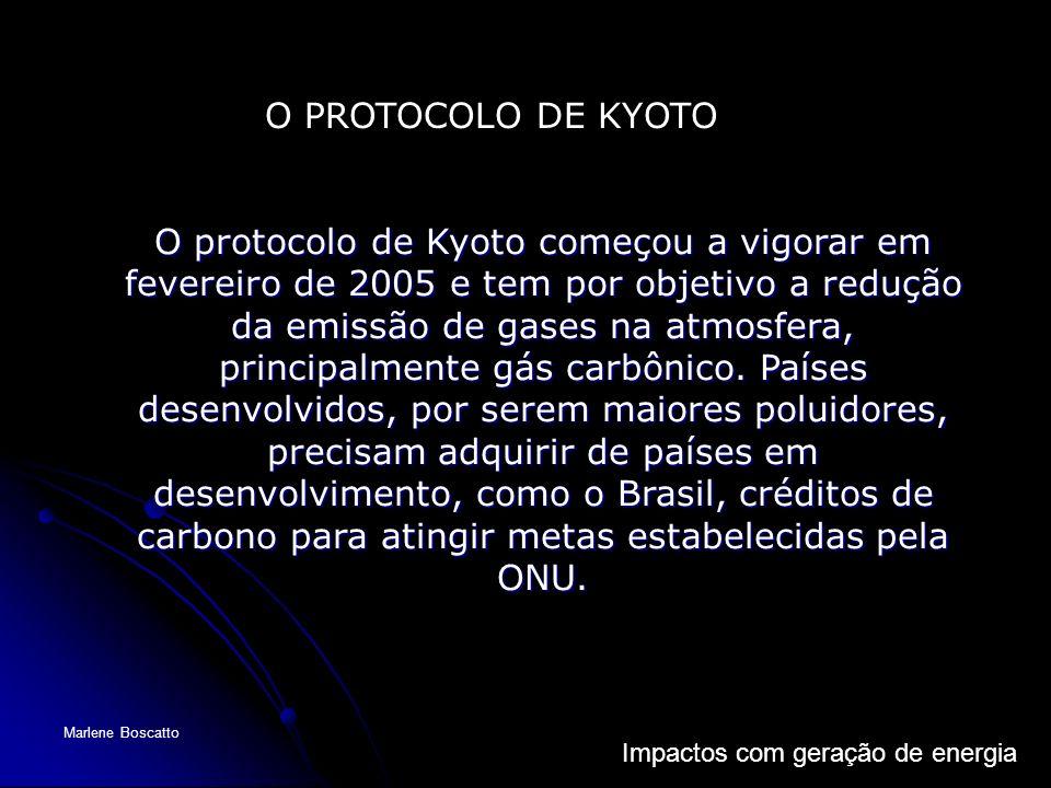 O PROTOCOLO DE KYOTO
