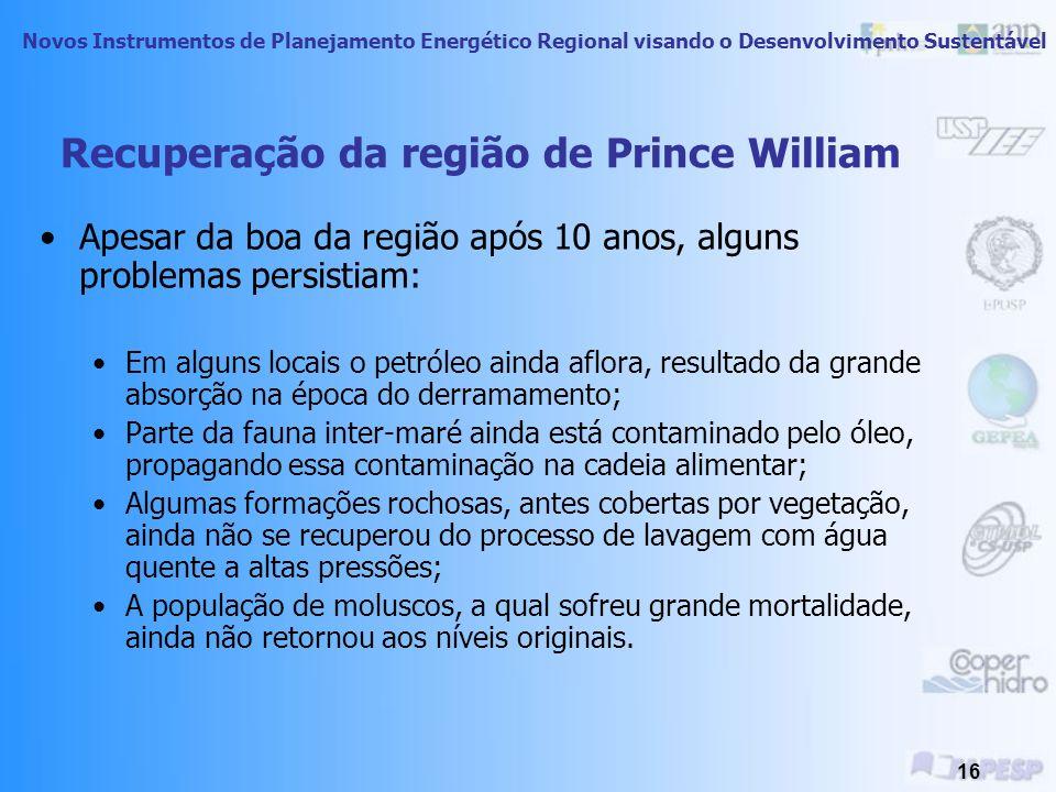Recuperação da região de Prince William