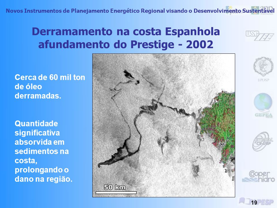 Derramamento na costa Espanhola afundamento do Prestige - 2002
