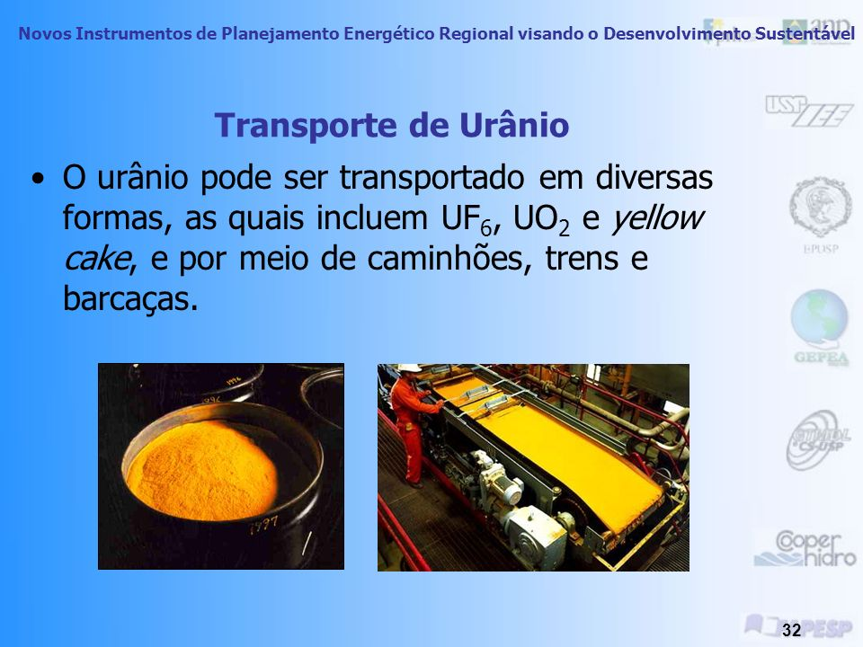 Transporte de Urânio