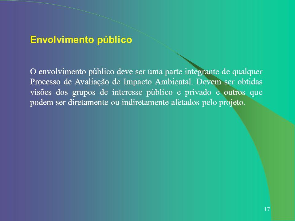 Envolvimento público