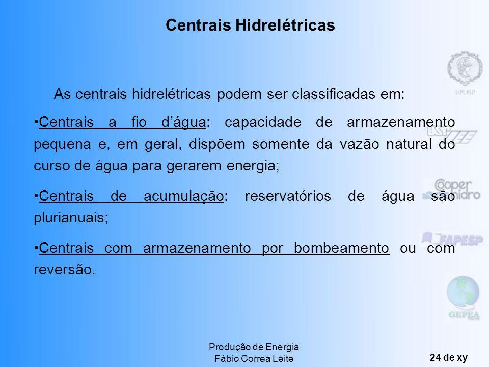 Centrais Hidrelétricas