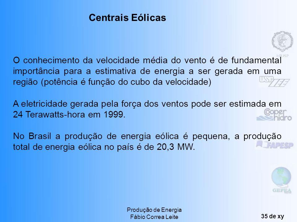 Centrais Eólicas