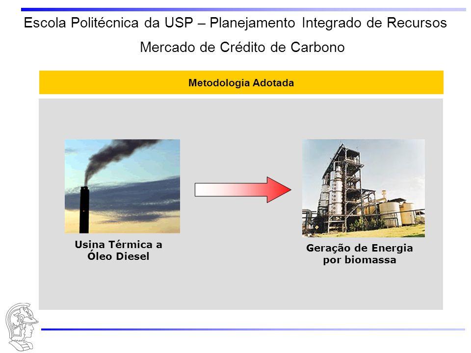 Usina Térmica a Óleo Diesel Geração de Energia por biomassa