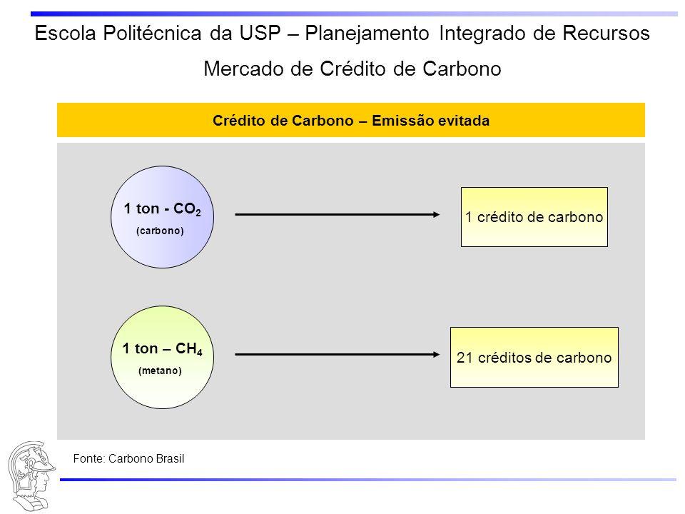 Crédito de Carbono – Emissão evitada