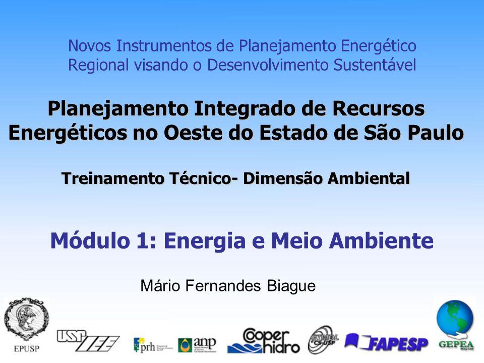 Módulo 1: Energia e Meio Ambiente