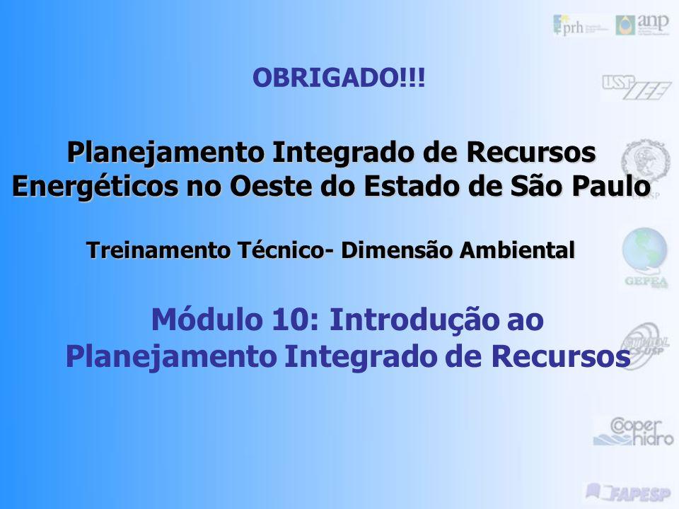 Módulo 10: Introdução ao Planejamento Integrado de Recursos