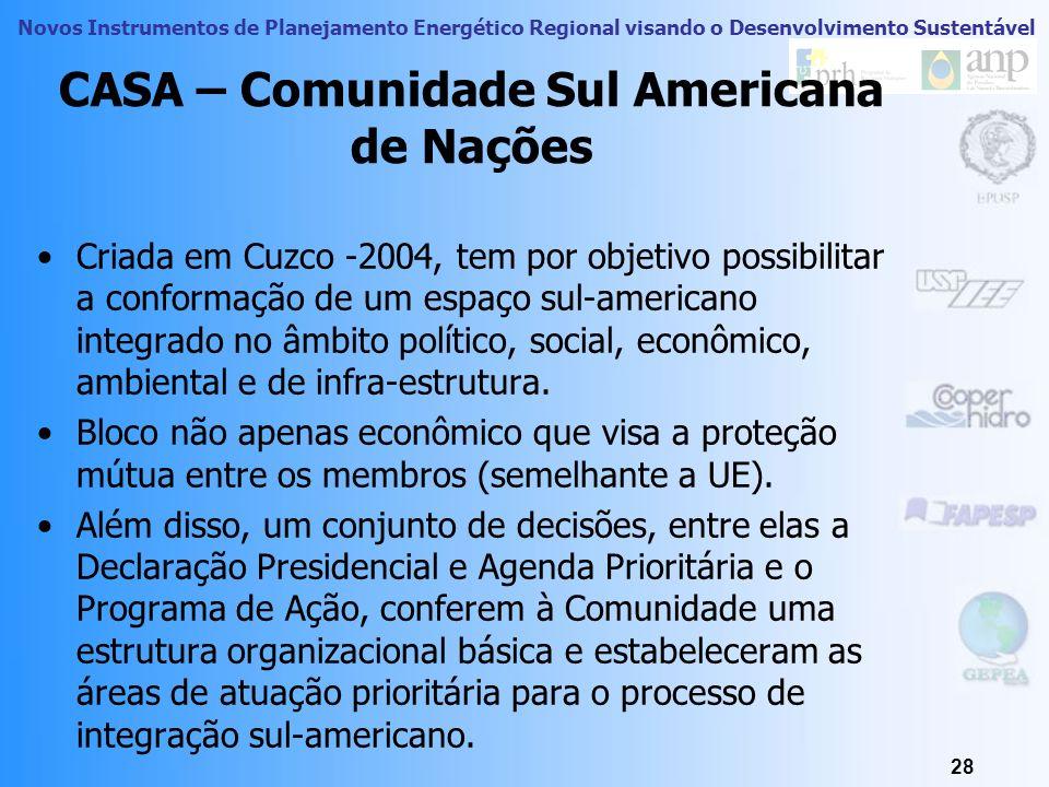 CASA – Comunidade Sul Americana de Nações
