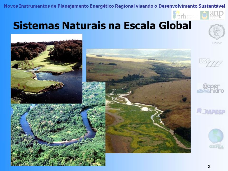 Sistemas Naturais na Escala Global