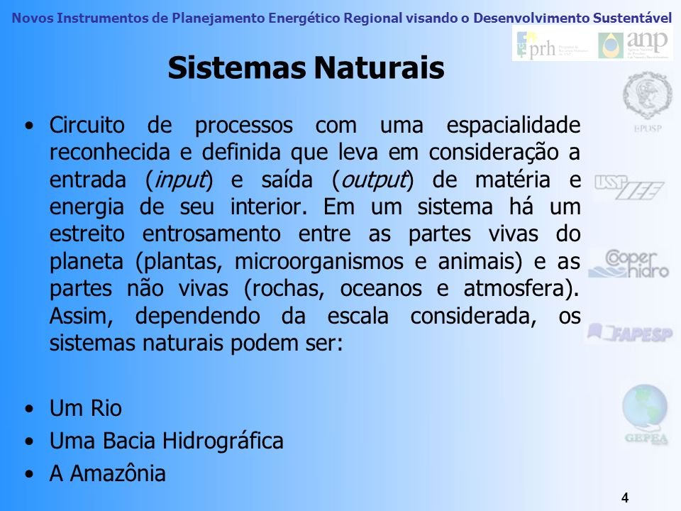 Sistemas Naturais