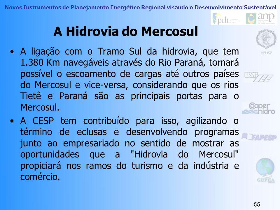 A Hidrovia do Mercosul