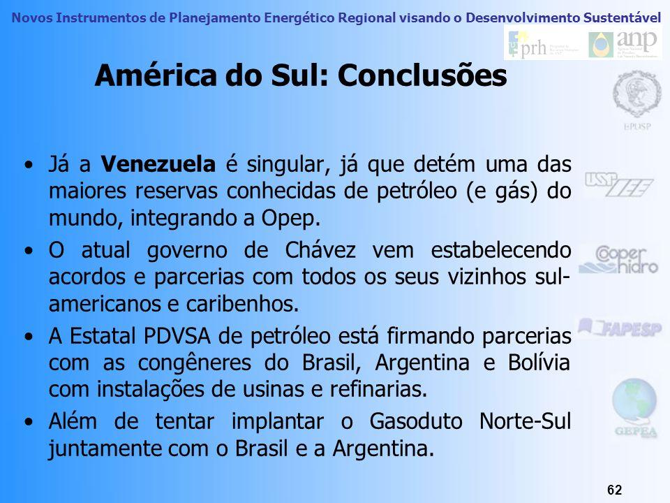 América do Sul: Conclusões