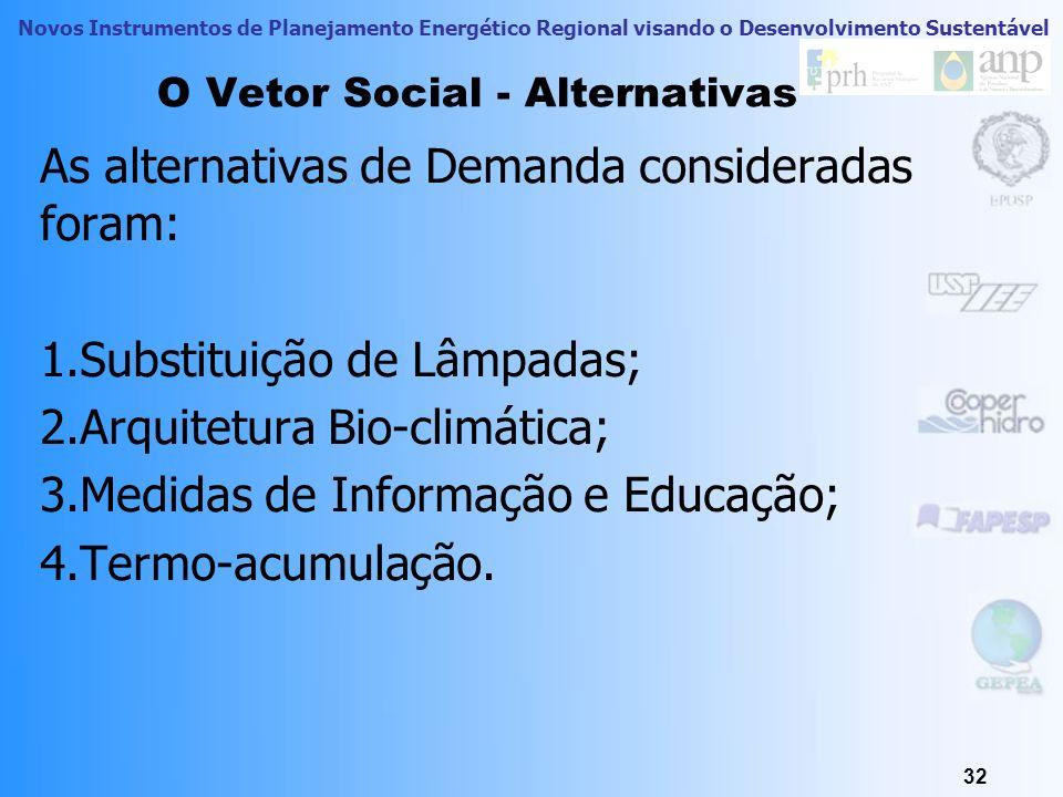 O Vetor Social - Alternativas