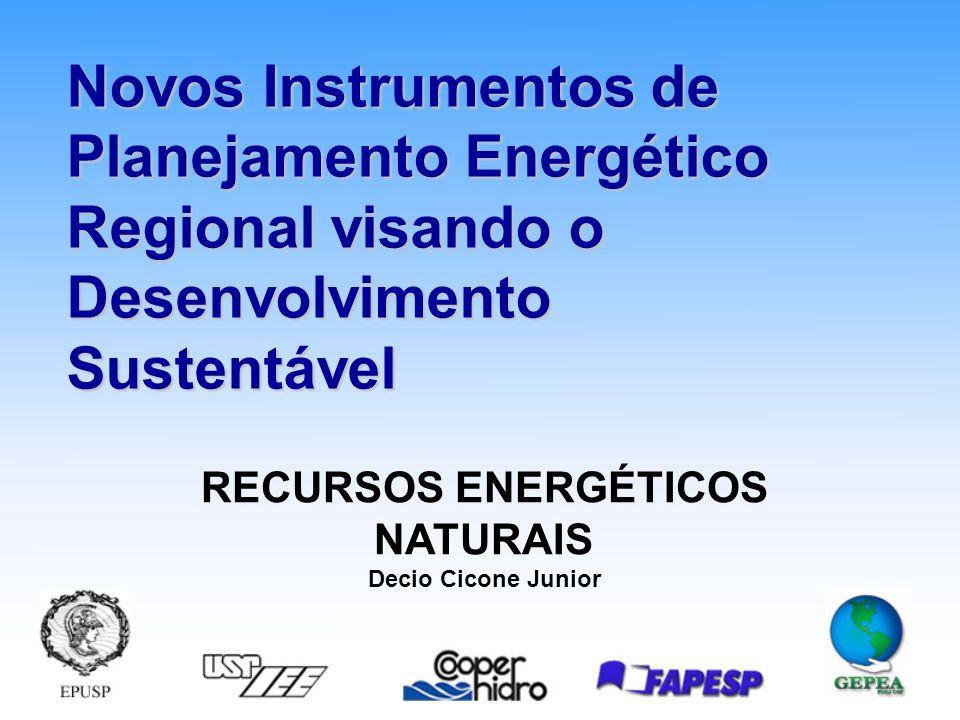 RECURSOS ENERGÉTICOS NATURAIS