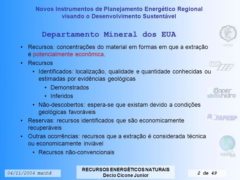Departamento Mineral dos EUA