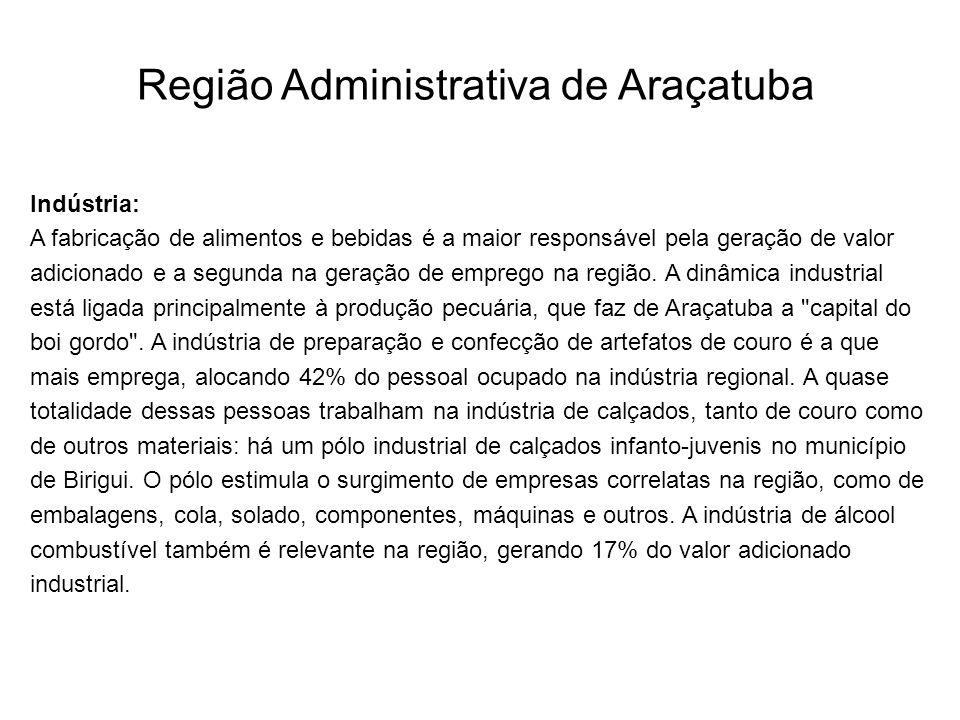 Região Administrativa de Araçatuba