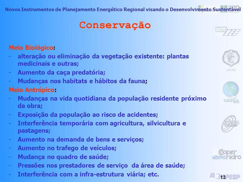 Conservação Meio Biológico: