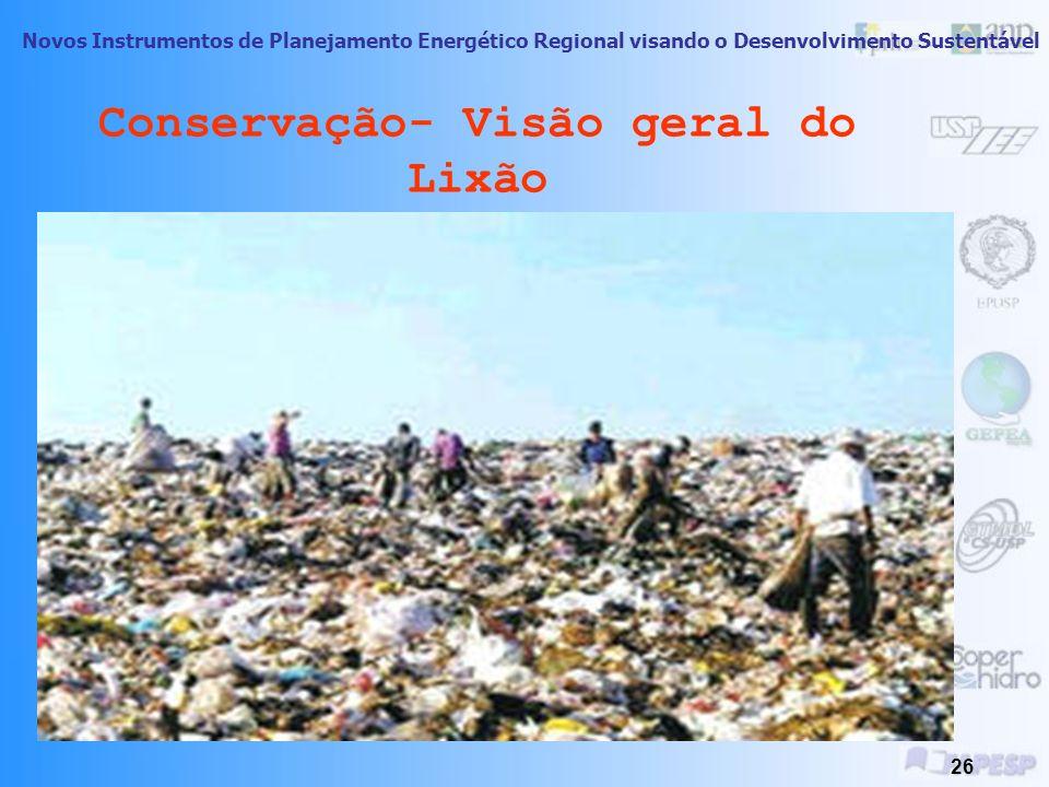Conservação- Visão geral do Lixão