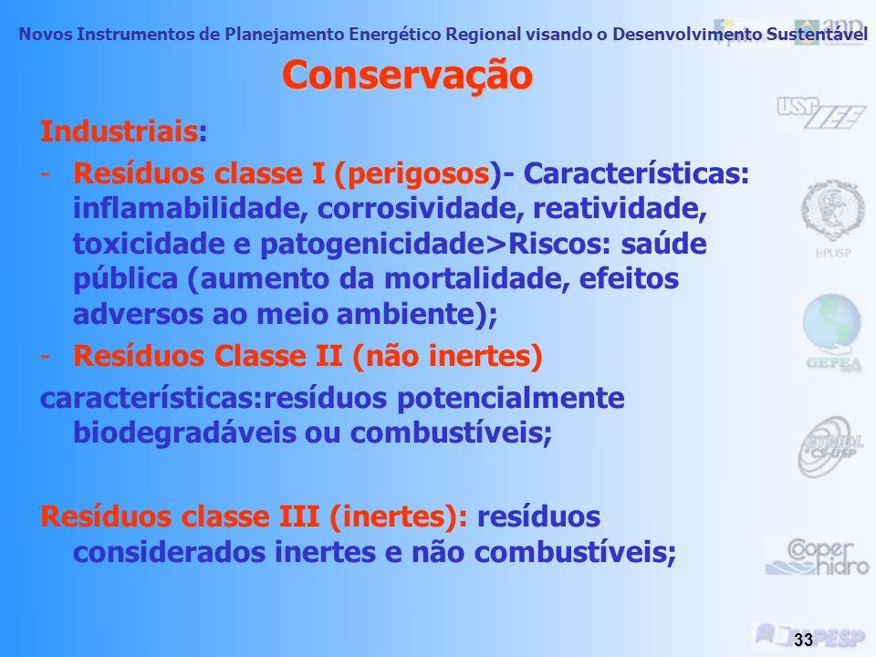 Conservação Industriais: