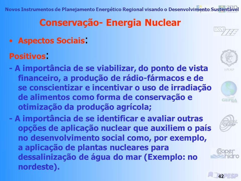 Conservação- Energia Nuclear