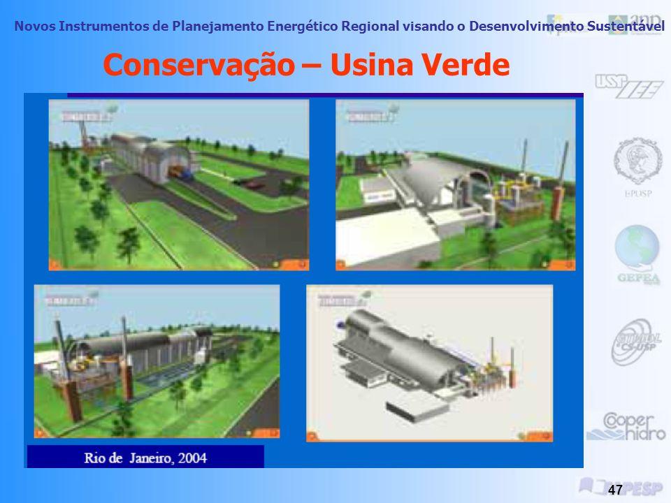 Conservação – Usina Verde