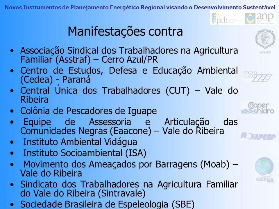Manifestações contraAssociação Sindical dos Trabalhadores na Agricultura Familiar (Asstraf) – Cerro Azul/PR.