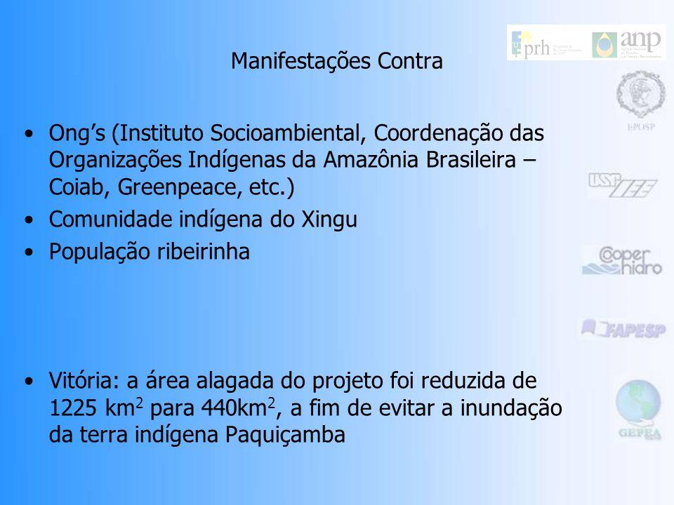 Manifestações Contra Ong's (Instituto Socioambiental, Coordenação das Organizações Indígenas da Amazônia Brasileira – Coiab, Greenpeace, etc.)