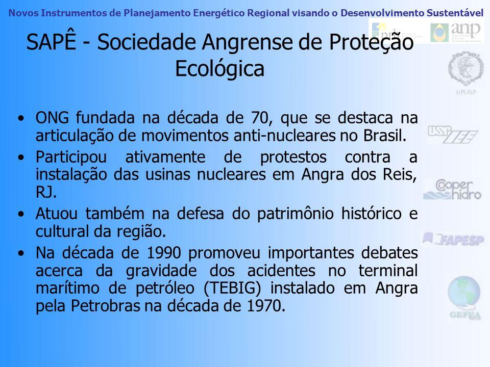 SAPÊ - Sociedade Angrense de Proteção Ecológica