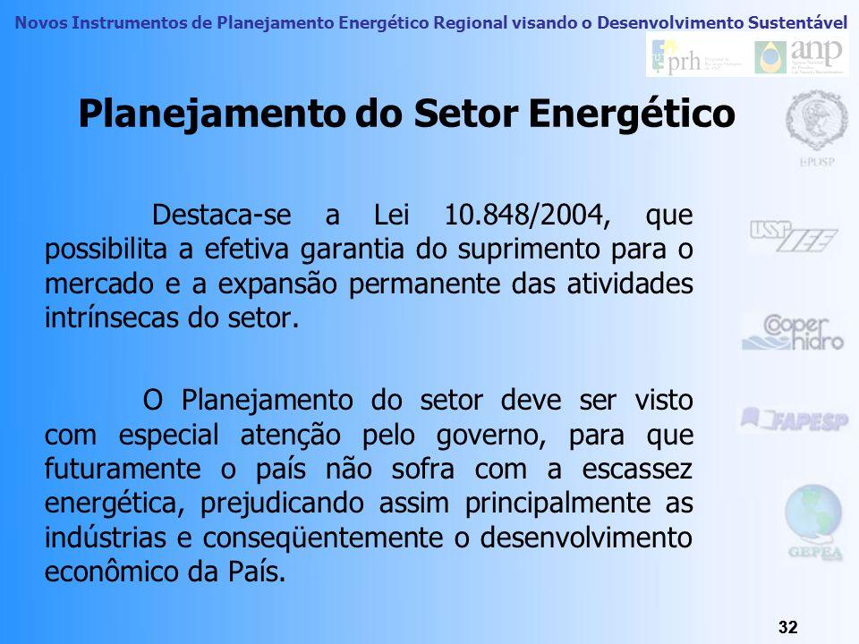 Planejamento do Setor Energético
