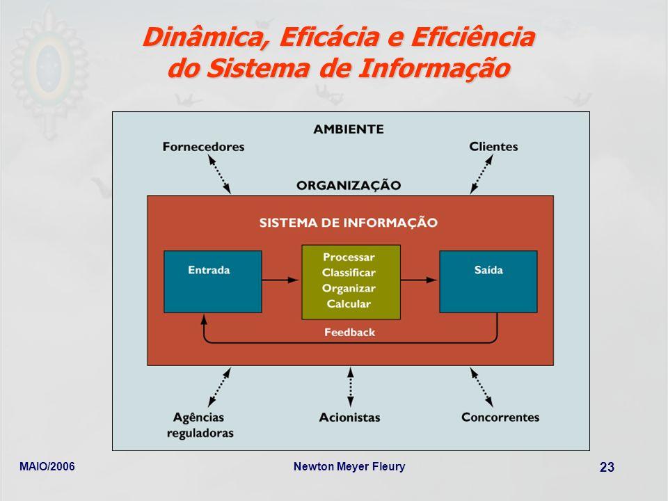 Dinâmica, Eficácia e Eficiência do Sistema de Informação