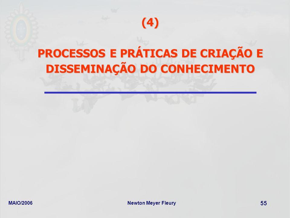PROCESSOS E PRÁTICAS DE CRIAÇÃO E DISSEMINAÇÃO DO CONHECIMENTO