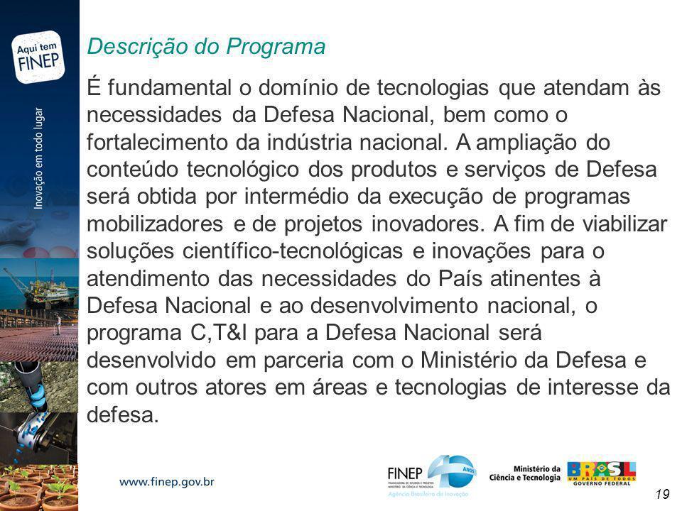 Descrição do Programa