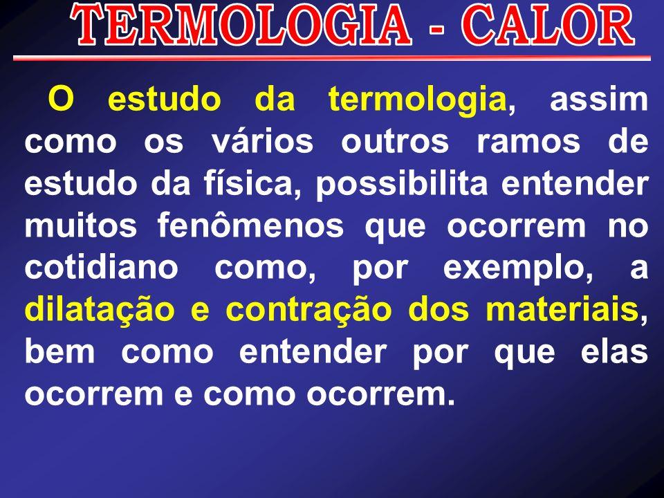 TERMOLOGIA - CALOR