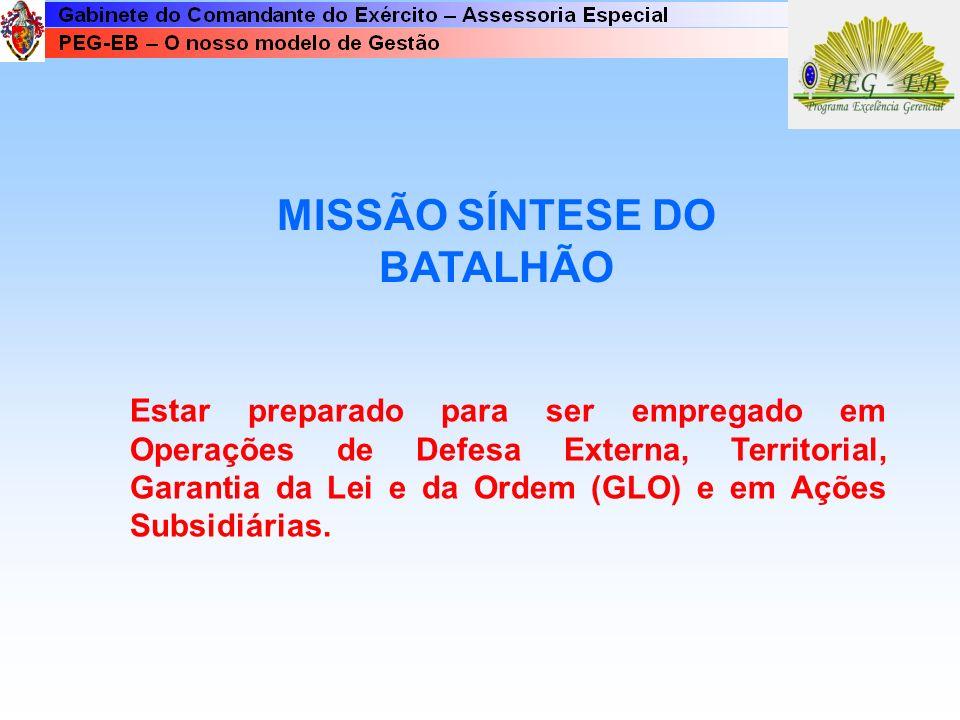 MISSÃO SÍNTESE DO BATALHÃO