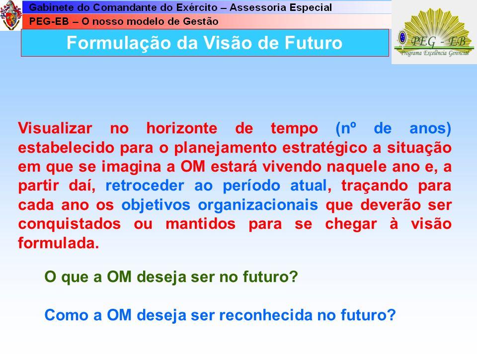 Formulação da Visão de Futuro