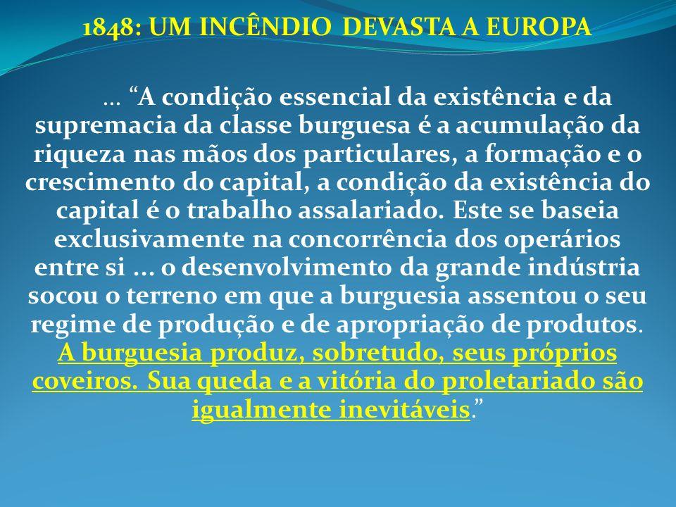 1848: UM INCÊNDIO DEVASTA A EUROPA