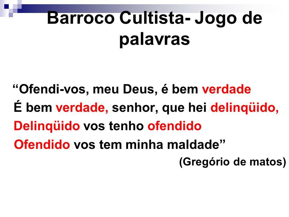 Barroco Cultista- Jogo de palavras