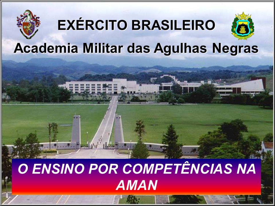 Academia Militar das Agulhas Negras O ENSINO POR COMPETÊNCIAS NA AMAN