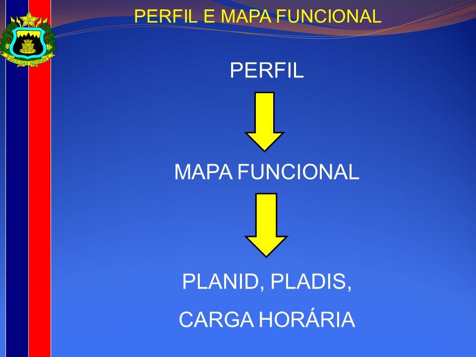 PERFIL E MAPA FUNCIONAL