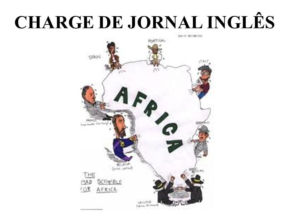 CHARGE DE JORNAL INGLÊS