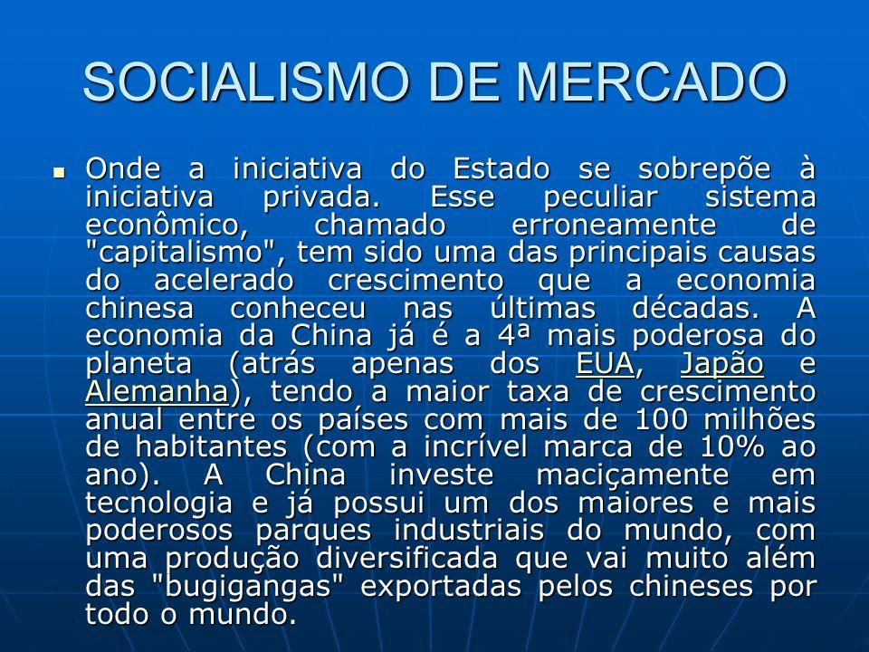 SOCIALISMO DE MERCADO