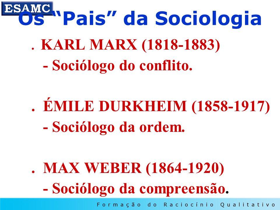 Os Pais da Sociologia