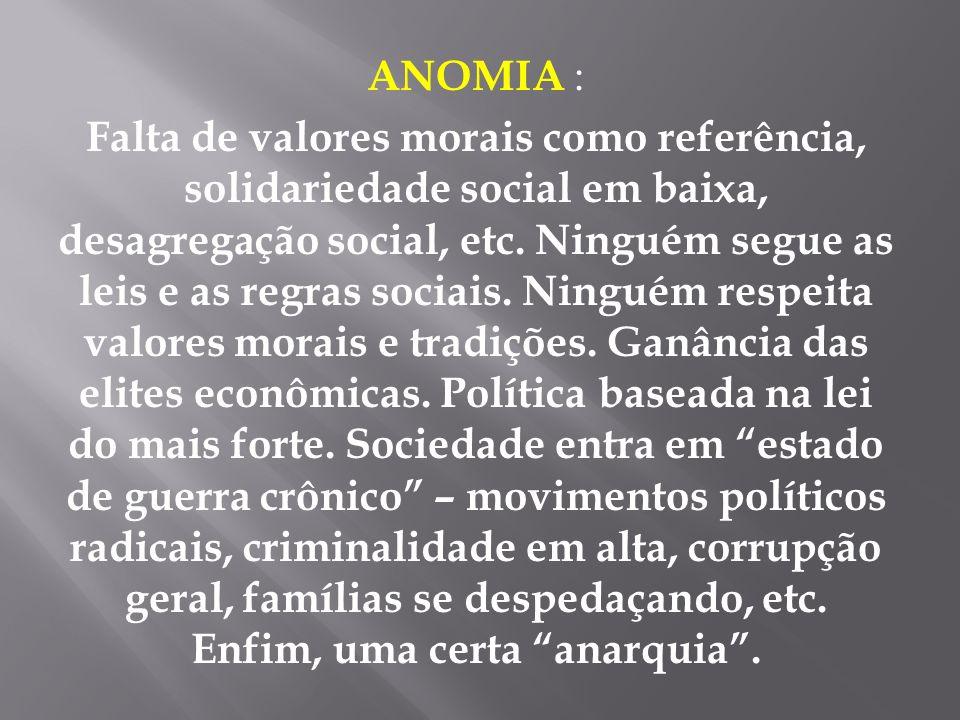 ANOMIA :