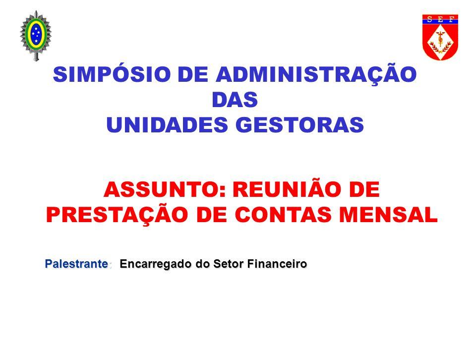 SIMPÓSIO DE ADMINISTRAÇÃO