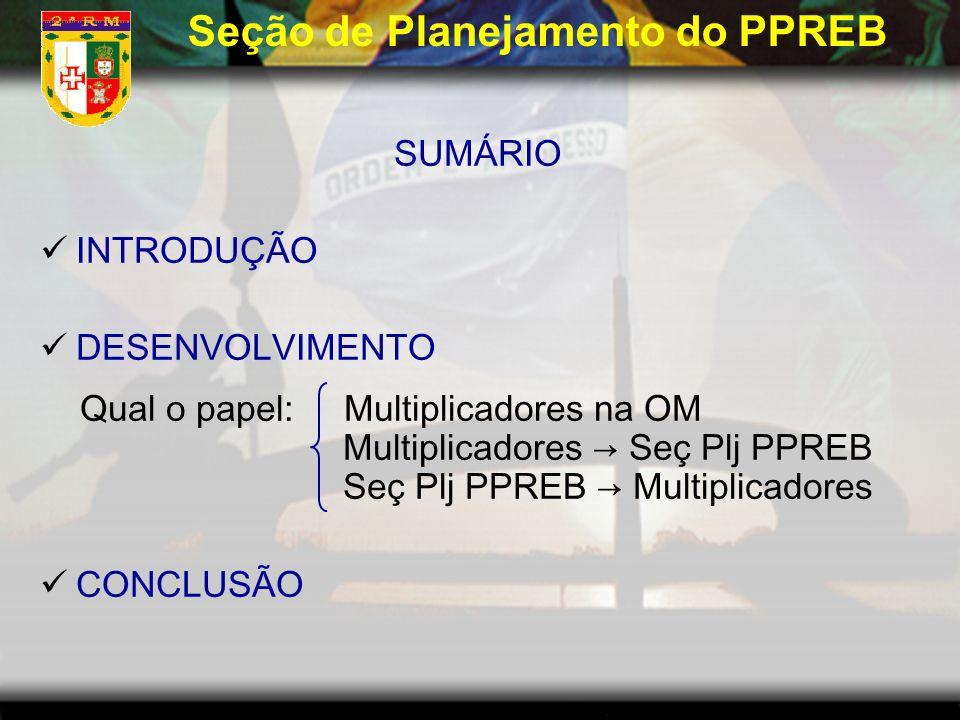 Seção de Planejamento do PPREB