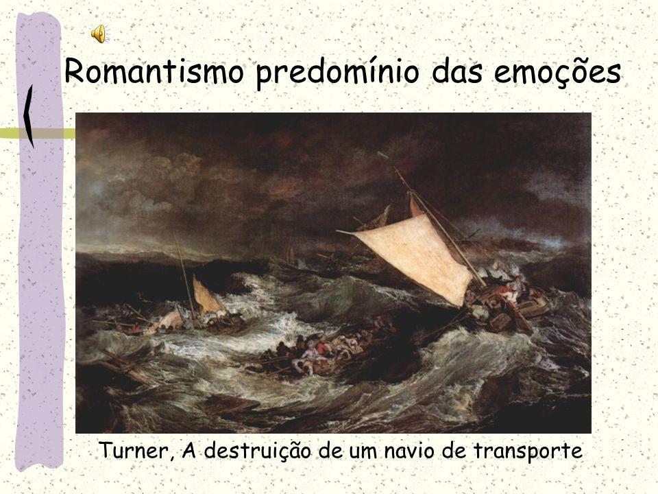 Romantismo predomínio das emoções