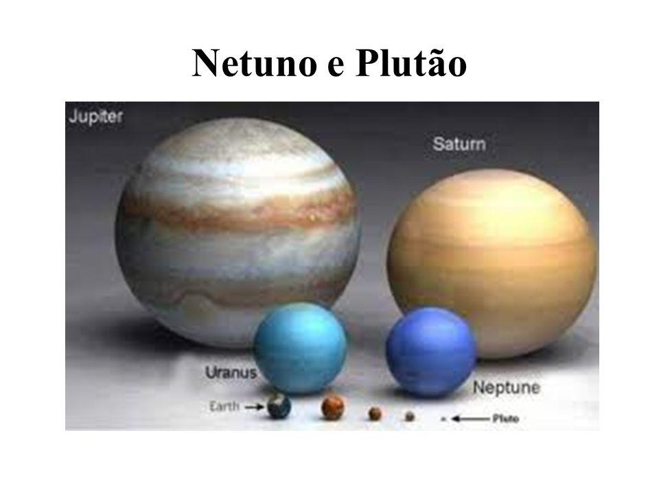 Netuno e Plutão